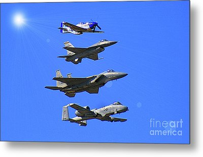 Heritage Flight Metal Print by Matthew Winn