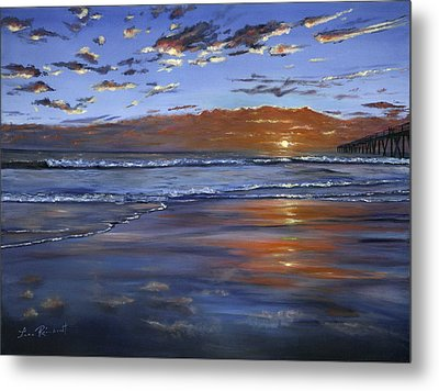 Hermosa Sunset Metal Print
