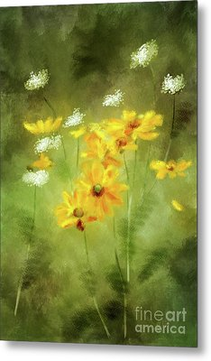 Metal Print featuring the digital art Hidden Gems by Lois Bryan