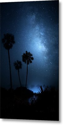 Metal Print featuring the photograph Hidden Worlds by Mark Andrew Thomas