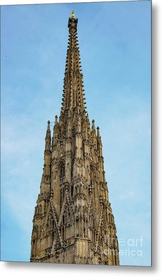 High Bell Tower Metal Print by Bob Phillips