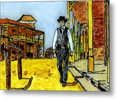High Noon Metal Print
