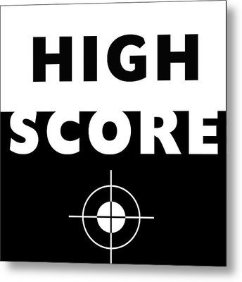 High Score- Art By Linda Woods Metal Print