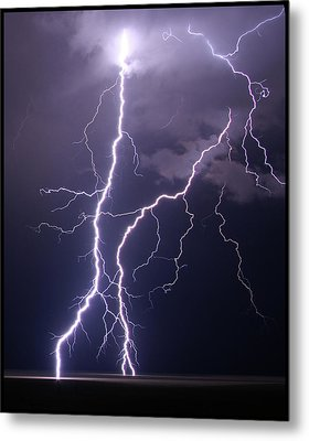 High Voltage! Metal Print by Pat Gaines