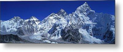 Himalaya Mountains, Nepal Metal Print