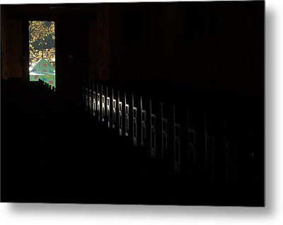 Metal Print featuring the photograph His Power by Al Swasey