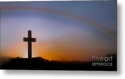 Metal Print featuring the photograph His Promise by Benanne Stiens