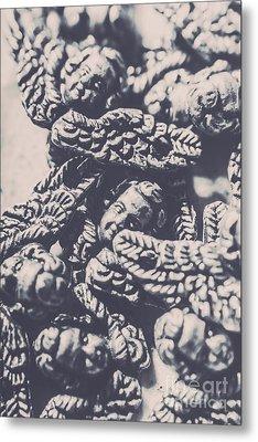 Historic Angel Abstract Metal Print