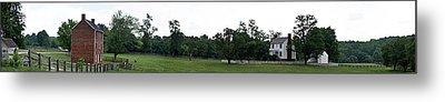 Historic Appomattox Panorama  Metal Print by Teresa Mucha