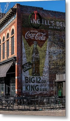 Metal Print featuring the photograph Historic Coca Cola Brick Ad - Fort Collins - Colorado by Gary Whitton