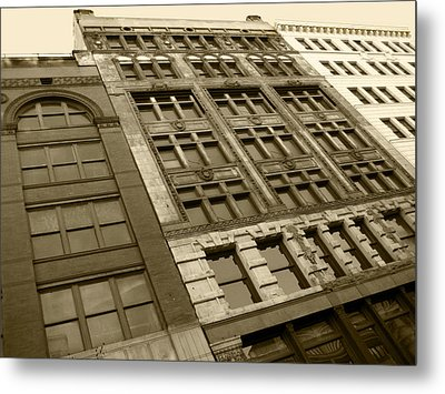 Historic Detroit Metal Print by Sheryl Burns