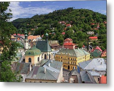 Historic Mining Town Banska Stiavnica, Slovakia Metal Print