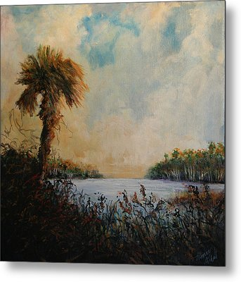 Historic Palm Metal Print by Michele Hollister - for Nancy Asbell