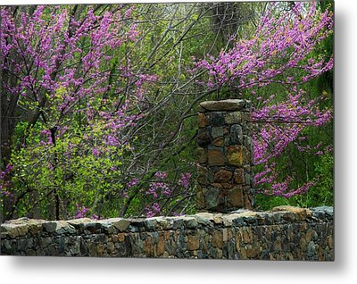 Historical Bridge In Aldie Virginia Metal Print by Joyce Kimble Smith