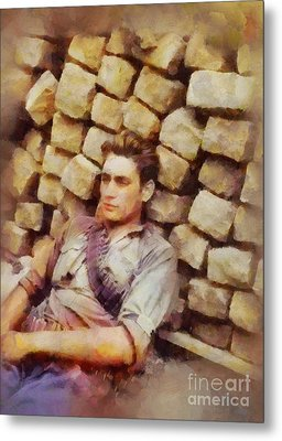 History In Color. French Resistance Fighter, Wwii Metal Print by Sarah Kirk