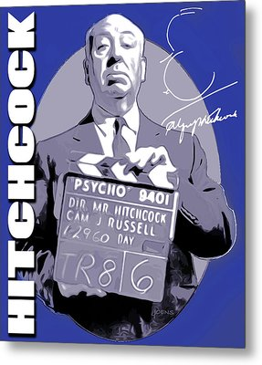 Hitchcock Metal Print by Greg Joens