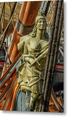 Metal Print featuring the photograph Hms Surprise by Bill Gallagher