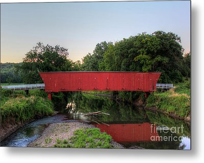 Hogback Covered Briodge Metal Print by Thomas Danilovich