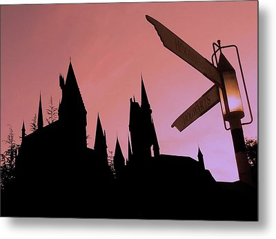 Metal Print featuring the photograph Hogwarts Castle by Juergen Weiss