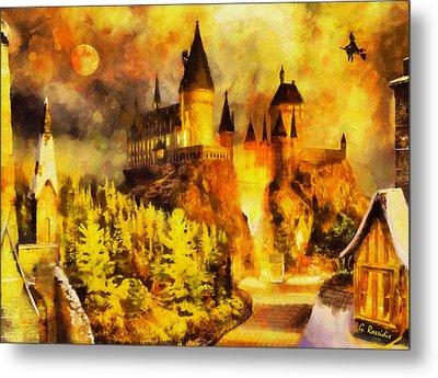 Hogwarts Metal Print by George Rossidis
