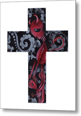 Hold Me Metal Print by  Abril Andrade Griffith