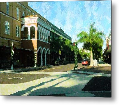 Holiday Ft. Myers Metal Print by Florene Welebny