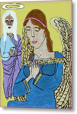 Holy Jesus Praise The Lord Metal Print by Betty  Roberts