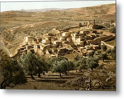 Holy Land - Bethany  Metal Print by Munir Alawi
