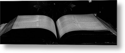 Holy Word Metal Print by David Paul Murray