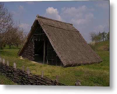 Home - Prehistory Edition Metal Print by Catja Pafort