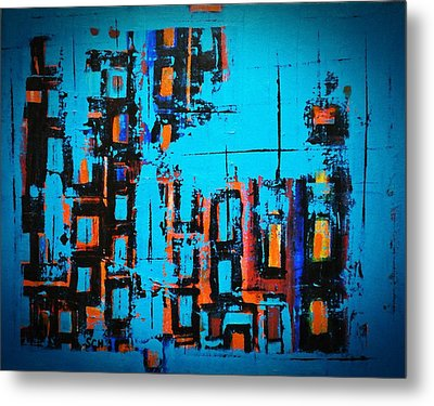 Home Of The Blues Number Three Metal Print by Scott Haley