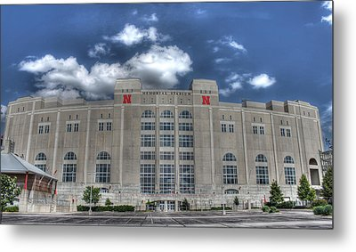 Home Of The Huskers  Metal Print