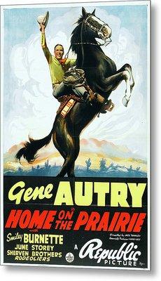 Home On The Prairie 1939 Metal Print by Republic