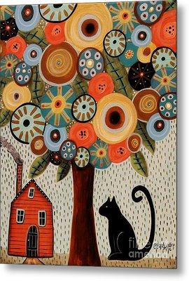 Home Sweet Home Metal Print by Karla Gerard