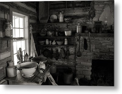 Metal Print featuring the photograph Home Sweet Home Kitchen by Joanne Coyle