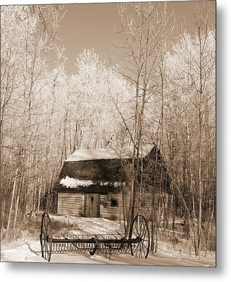Homestead Metal Print by Pat Purdy