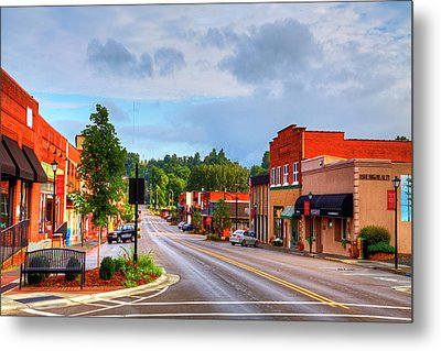 Hometown America Metal Print