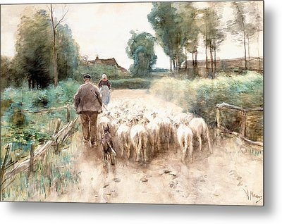 Homeward Bound Metal Print by Anton Mauve