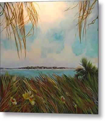 Honeymoon Island Metal Print by Michele Hollister - for Nancy Asbell