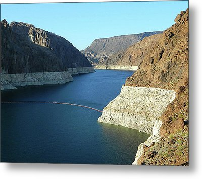 Metal Print featuring the photograph Hoover Dam In May by Emmy Marie Vickers