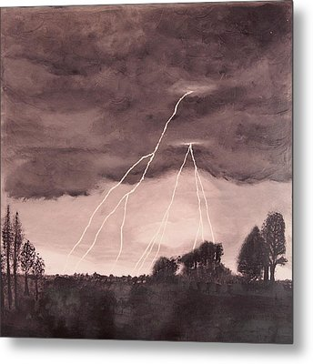Hope After The Storm Metal Print by Dawn Hay