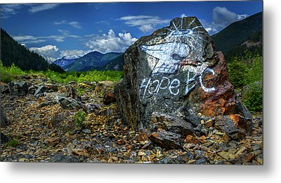 Metal Print featuring the photograph Hope II by John Poon