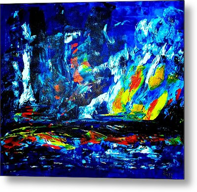 Metal Print featuring the painting Hope by Piety Dsilva