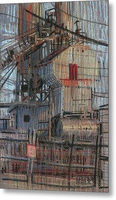 Hopper Metal Print by Donald Maier