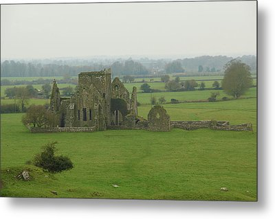 Metal Print featuring the photograph Hore Abbey by Marie Leslie