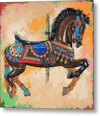 Horses #3 Metal Print