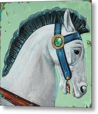 Horses #4 Metal Print