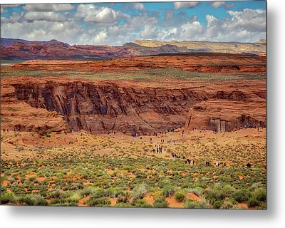 Metal Print featuring the photograph Horseshoe Bend Arizona #2 by Jennifer Rondinelli Reilly - Fine Art Photography