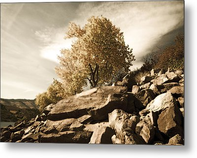 Horsetooth Reservoir 4 Metal Print by Matthew Angelo