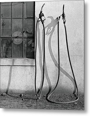 Hoses Metal Print by Peter J Sucy